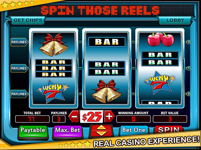 3 reel slot machines free