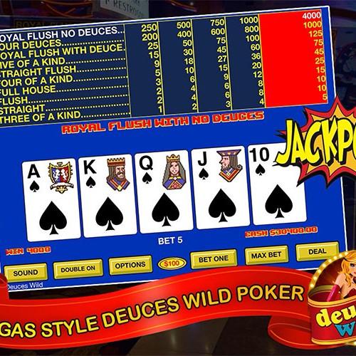 Deuces Wild – Video Poker